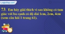 Trả lời câu hỏi 3 Bài 3 trang 62 SGK Toán 7 Tập 2