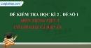 Đề số 1 - Đề thi học kì 2 - Tiếng Việt 5