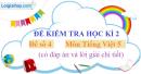 Đề số 4 - Đề thi học kì 2 - Tiếng Việt 5
