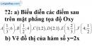 Trả lời câu hỏi 2 Bài 1 trang 43 SGK Toán 9 Tập 1