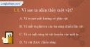 Câu 1.1, 1.2, 1.4 phần bài tập trong SBT – Trang 5,6 Vở bài tập Vật lí 7