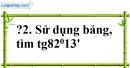 Trả lời câu hỏi 2 Bài 3 trang 80 SGK Toán 9 Tập 1