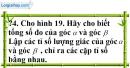 Trả lời câu hỏi 4 Bài 2 trang 74 SGK Toán 9 Tập 1