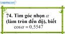 Trả lời câu hỏi 4 Bài 3 trang 80 SGK Toán 9 Tập 1