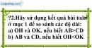 Trả lời câu hỏi 2 Bài 3 trang 105 SGK Toán 9 Tập 1