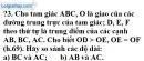 Trả lời câu hỏi 3 Bài 3 trang 105 SGK Toán 9 Tập 1