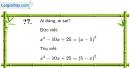 Trả lời câu hỏi 7 Bài 3 trang 11 SGK Toán 8 Tập 1