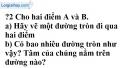 Trả lời câu hỏi 2 Bài 1 trang 98 SGK Toán 9 Tập 1