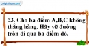 Trả lời câu hỏi 3 Bài 1 trang 98 SGK Toán 9 Tập 1