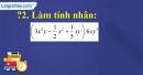Trả lời câu hỏi 2 Bài 1 trang 5 SGK Toán 8 Tập 1
