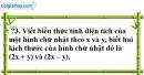 Trả lời câu hỏi 3 Bài 2 trang 7 SGK Toán 8 Tập 1