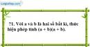 Trả lời câu hỏi 1 Bài 3 trang 9 SGK Toán 8 Tập 1