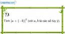 Trả lời câu hỏi 3 Bài 3 trang 10 SGK Toán 8 Tập 1