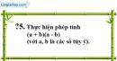 Trả lời câu hỏi 5 Bài 3 trang 10 SGK Toán 8 Tập 1
