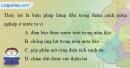 Bài 4 trang 21 vở bài tập Địa lí 9