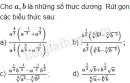 Bài 4 trang 56 SGK Giải tích 12