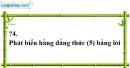 Trả lời câu hỏi 4 Bài 4 trang 13 SGK Toán 8 Tập 1