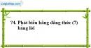 Trả lời câu hỏi 4 Bài 5 trang 15 SGK Toán 8 Tập 1