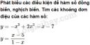 Bài 1 trang 45 SGK Giải tích 12