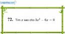Trả lời câu hỏi 2 Bài 6 trang 18 SGK Toán 8 Tập 1