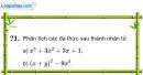 Trả lời câu hỏi 1 Bài 7 trang 20 SGK Toán 8 Tập 1