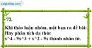 Trả lời câu hỏi 2 Bài 8 trang 22 SGK Toán 8 Tập 1