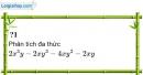 Trả lời câu hỏi 1 Bài 9 trang 23 SGK Toán 8 Tập 1