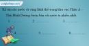 Bài 2 trang 39 vở bài tập Địa lí 9