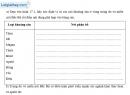 Bài 1 trang 47 vở bài tập Địa lí 9