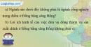 Bài 1 trang 52 vở bài tập Địa lí 9