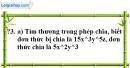 Trả lời câu hỏi 3 Bài 10 trang 26 SGK Toán 8 Tập 1