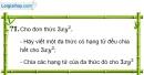 Trả lời câu hỏi 1 Bài 11 trang 27 SGK Toán 8 Tập 1