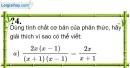 Trả lời câu hỏi 4 Bài 2 trang 37 SGK Toán 8 Tập 1