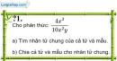Trả lời câu hỏi 1 Bài 3 trang 38 SGK Toán 8 Tập 1