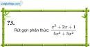 Trả lời câu hỏi 3 Bài 3 trang 39 SGK Toán 8 Tập 1