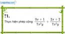 Trả lời câu hỏi 1 Bài 5 trang 44 SGK Toán 8 Tập 1