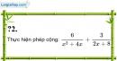 Trả lời câu hỏi 2 Bài 5 trang 45 SGK Toán 8 Tập 1