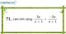 Trả lời câu hỏi 1 Bài 6 trang 48 SGK Toán 8 Tập 1