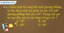 Câu  4.a, 4.b phần bài tập bổ sung – Trang 18 Vở bài tập Vật lí 7