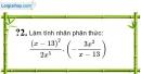 Trả lời câu hỏi 2 Bài 7 trang 52 SGK Toán 8 Tập 1