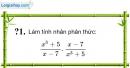 Trả lời câu hỏi 1 Bài 8 trang 53 SGK Toán 8 Tập 1