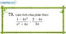 Trả lời câu hỏi 3 Bài 8 trang 54 SGK Toán 8 Tập 1