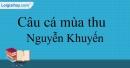 Câu cá mùa thu - Nguyễn Khuyến
