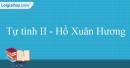 Tự tình II - Hồ Xuân Hương