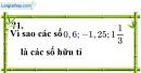 Trả lời câu hỏi 1 Bài 1 trang 5 SGK Toán 7 Tập 1