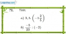 Trả lời câu hỏi Bài 3 trang 11 SGK Toán 7 Tập 1