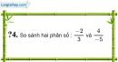 Trả lời câu hỏi 4 Bài 1 trang 6 SGK Toán 7 Tập 1
