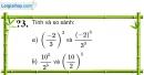 Trả lời câu hỏi 3 Bài 6 trang 21 SGK Toán 7 Tập 1
