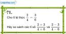 Trả lời câu hỏi 1 Bài 8 trang 28 SGK Toán 7 Tập 1