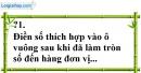 Trả lời câu hỏi 1 Bài 10 trang 35 SGK Toán 7 Tập 1